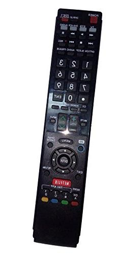 Replaced Remote Control Compatible for Sharp LC-70C7450U LC-