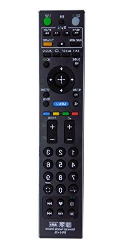 VINABTY Replaced Remote Controller SN-6+EL fit for Sony 3D L
