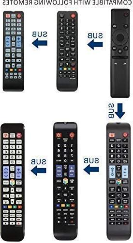 Universal remote TV BN59-01241A BN59-01260A and 4K UHD NU50 NU55 NU65 NU75 KS models with Years