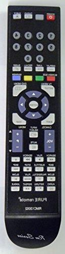 Replacement Remote for JVC RM-C1221 - TV/DVD Remote