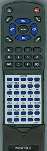 Replacement Remote Control for MAGNAVOX 39ME313V, 46ME313V,