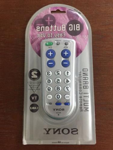 Sony RM-EZ2 TV and Cable Remote Control