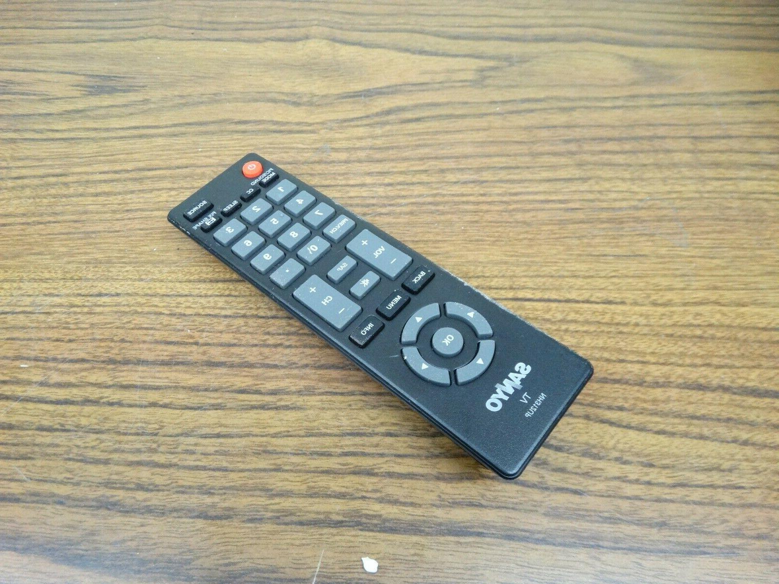 Sanyo FW40D36F LED TV Remote Control- NH312UP