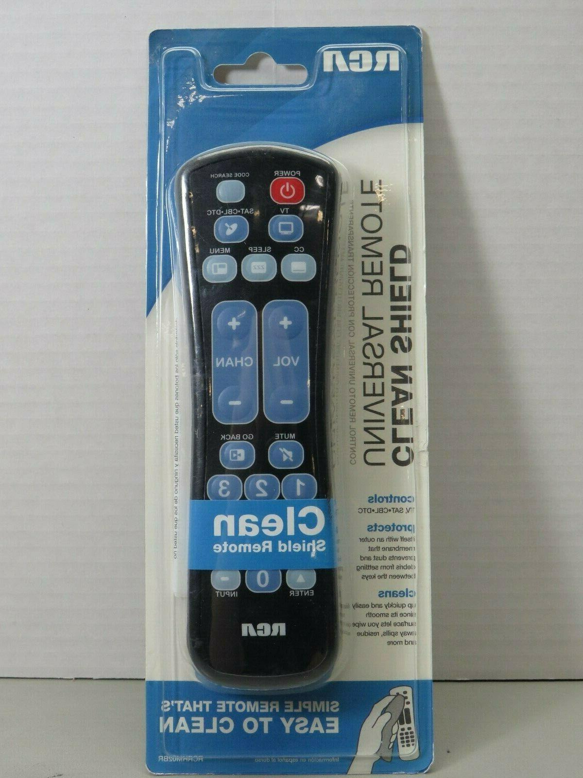 sealed clean shield universal tv remote control