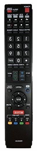 USBRMT NEW SHARP Replacement TV Remote GB005WJSA for SHARP A