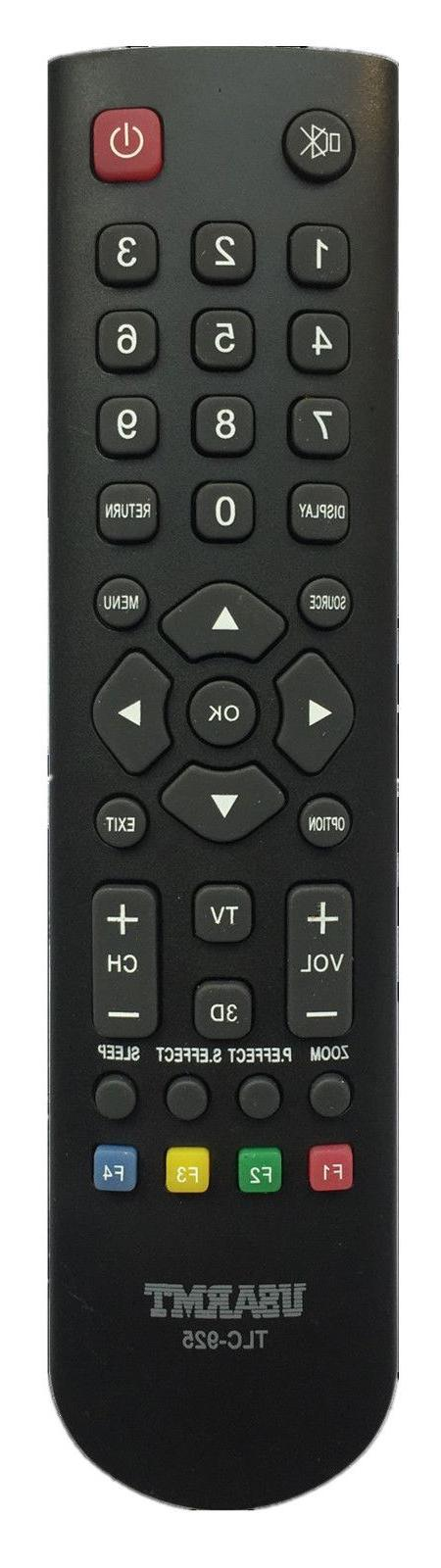 tcl replaced tv remote control