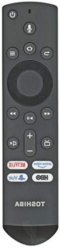 Toshiba CT-RC1US-19 / Insignia NS-RCFNA-19 Fire TV Remote Co