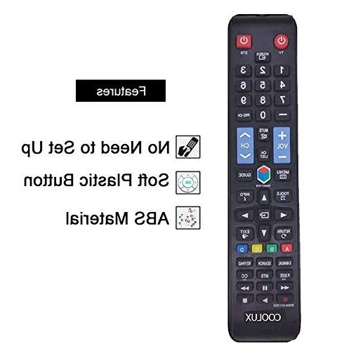 Coolux Remote for All LED Smart TVs