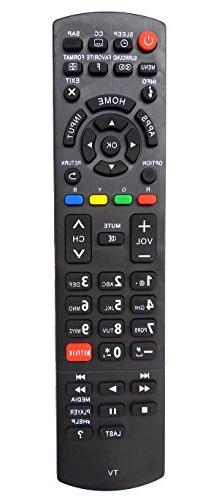 Universal Remote Control for Panasonic TV TC-40AS520U TC-50A