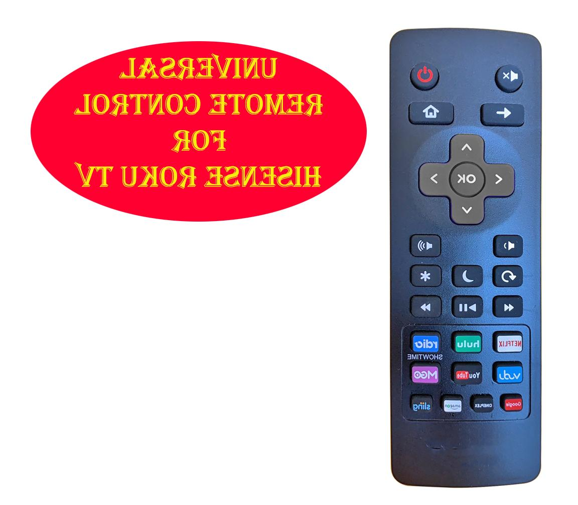 Universal Remote Control fit for Hisense Roku Built-in TV 32