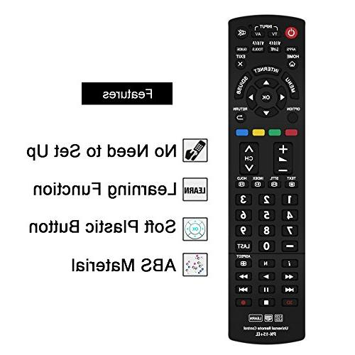 Gvirtue Remote Compatible Replacement Link/HDTV/ 3D/ LCD/LED, N2QAYB000485 N2QAYB000221 N2QAYB00048