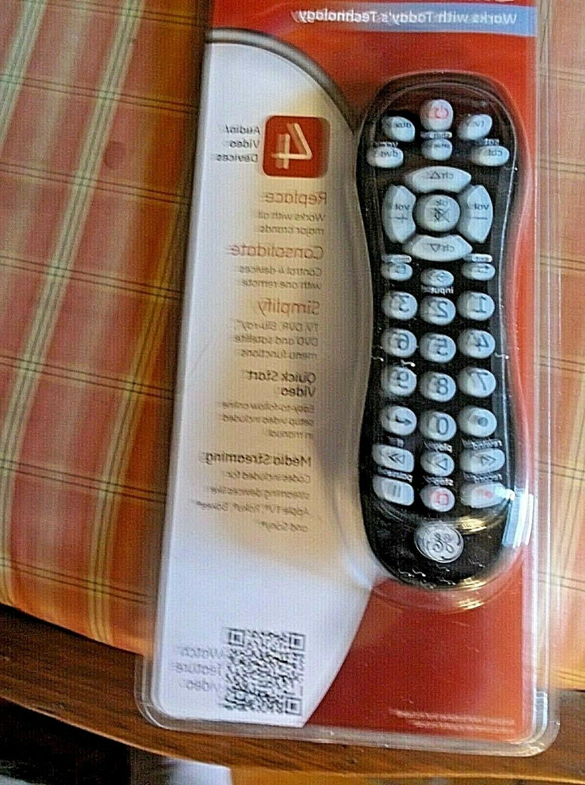 universal remotes 10975 controls 4 devices tv