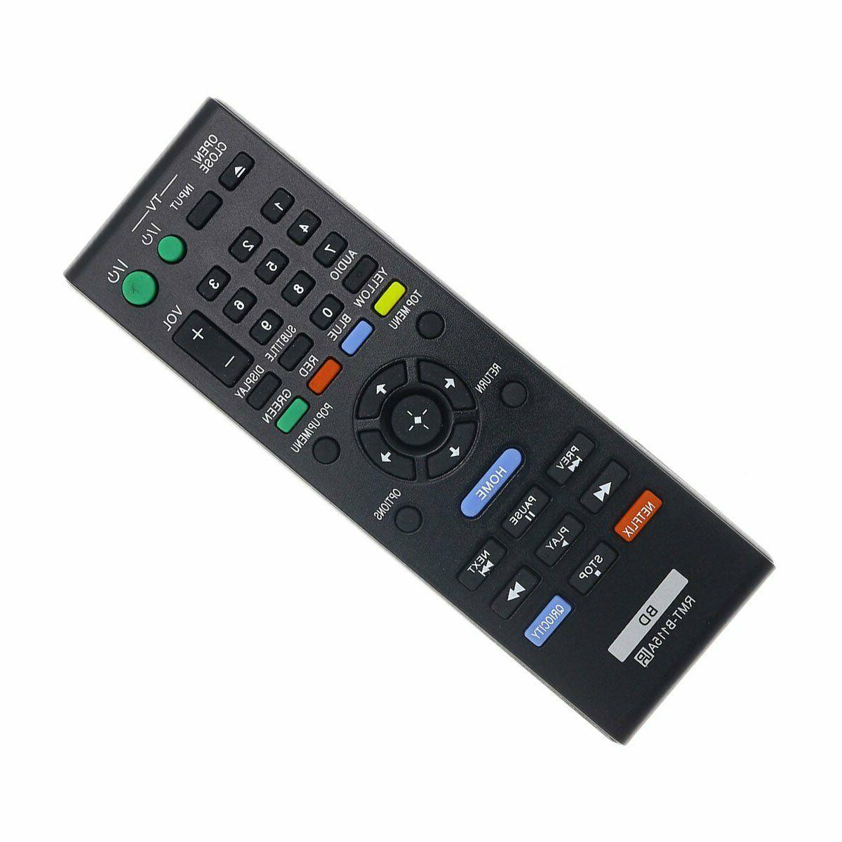 Sony Replaced Remote RMT-B115A for BDP-S380 RMTB115A