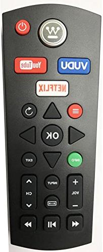 Smartby New Westinghouse Digital WD60MB2240RC TV Remote Cont