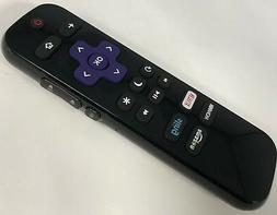 LC-RCRUS-17 Remote for Sharp Ruku TV with Netflix HBO Sling