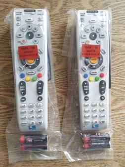 LOT OF 2 DIRECTV RC66RX UNIVERSAL REMOTE HD/DVR IR/RF 2AA BA
