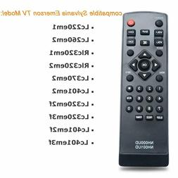 New Emerson Sylvania TV Replacement Remote Control  NH000UD