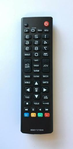 New USBRMT LG Replacement TV Remote AKB73715608 For LG LCD L