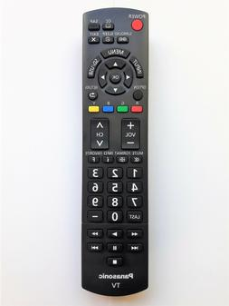 new oem n2qayb000706 tv remote tc p50u50t