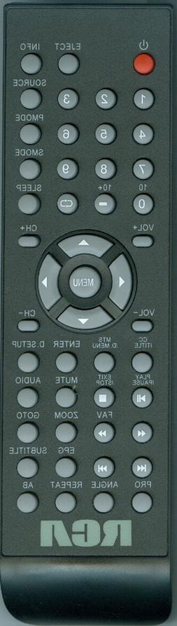 New RCA TV  DVD Combo Remote Control for RLCV3223AB, RTPLDED