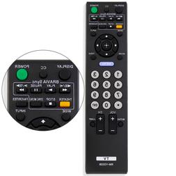 New Replacement RM-YD028 Remote for Sony Bravia KDL46S5100 K