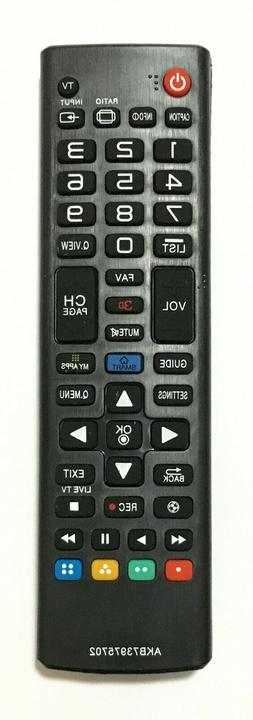 New Replacement TV Remote Control AKB73975702 For ALL LG LCD