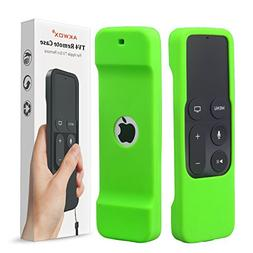 AKWOX Protective Case for Apple TV 4K/4th Gen Remote - Light