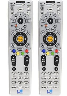 DirecTV RC66X 2 Pack - Replaces RC65, RC65X, RC66 - Works Wi