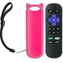 Remote Control for Hisense Roku TV w/Volume Control and TV P