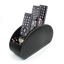 Fosinz Remote Control Holder Organizer Leather Control Stora