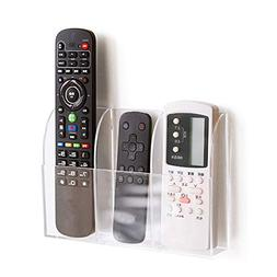 APSOONSELL Remote Control Holder Organizer Wall Mount Acryli