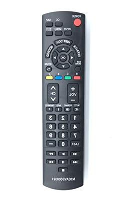 Replace Remote N2QAYB000321 for Panasonic TVs TC-26LX14 TC-3