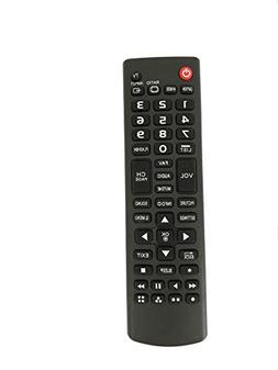 Replacement Remote Control for LG 28LJ400B 28LJ400B-PU 28MT4