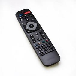 Replacement Remote for Philips 4K UHD Smart TVs and Models.