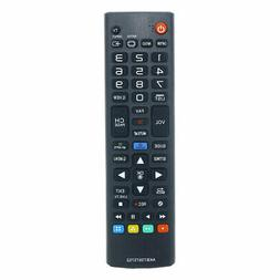 Replacement TV Remote Control for LG 43UF6800 Television