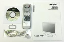 Sharp LD-23SH1U LCD Color TV Operation Manual Remote Utility