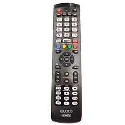 Coolux Brand Universal Remote 1120 for Most Brand TVs