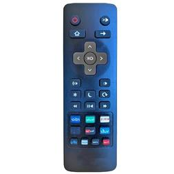 Universal Remote for Roku TV's TCL, LG ONN, Sharp Philips, H