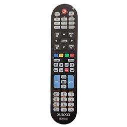 Coolux Universal Remote and Un 3D HD LED/LCD TVs with APP Ke