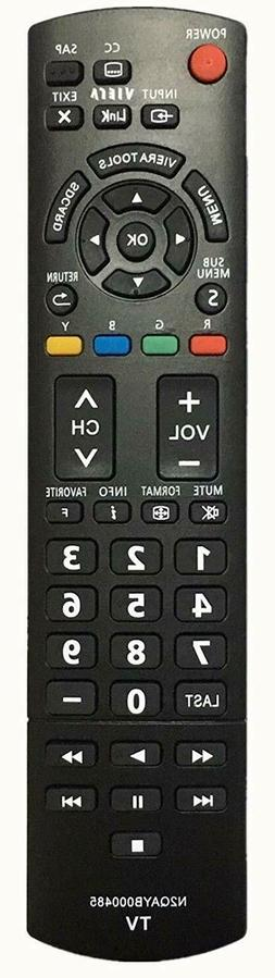 NEW USBRMT Replacement TV Remote sub N2QAYB000485 For Panaso