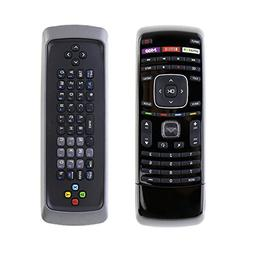 New XRT302 Dual Side QWERTY Keyboard Remote Control fit for
