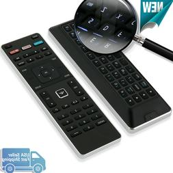 XRT500 for Smart TV Vizio Remote Control with Qwerty Keyboar